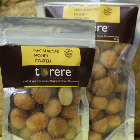 Torere Macadamias Honey Coated