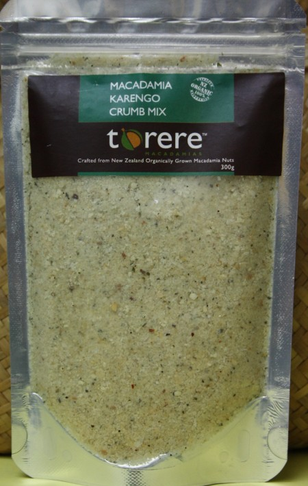 Torere Macadamias Karengo Crumb Mix