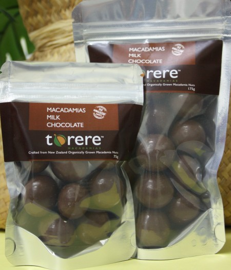 Torere Macadamias Milk Chocolate
