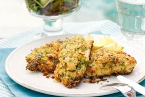 Macadamia Crusted Fish