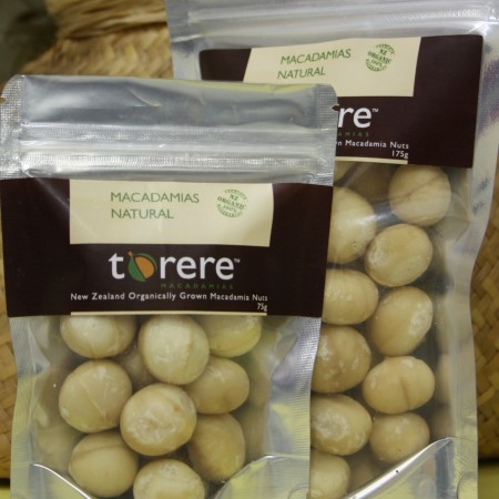 Torere Macadamias Natural nuts