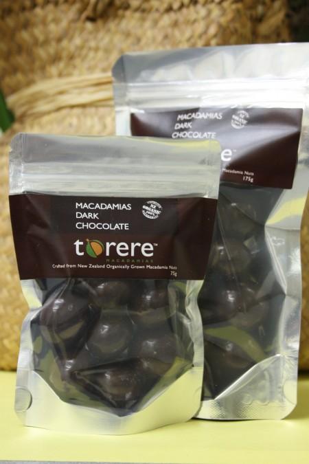 Torere Macadamias Dark Chocolate