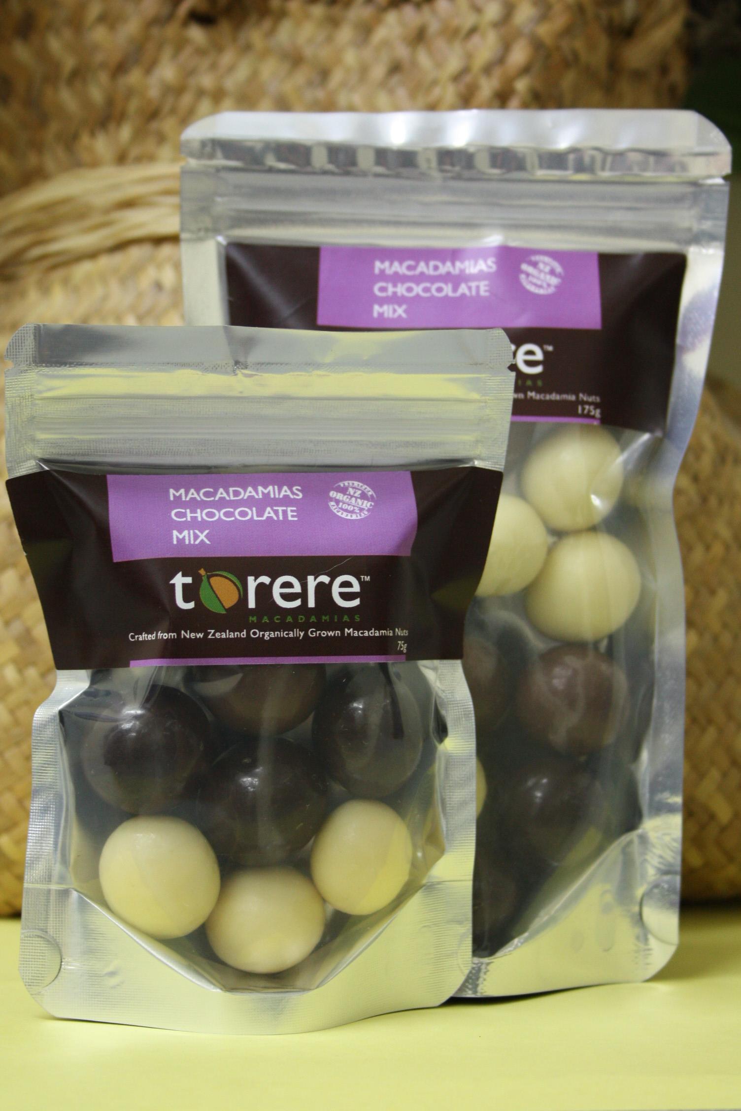 Macadamias Chocolate Mix Torere Macadamias