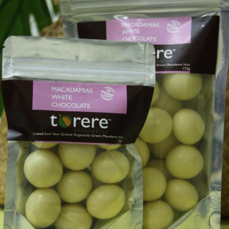 Torere Macadamias White Chocolate
